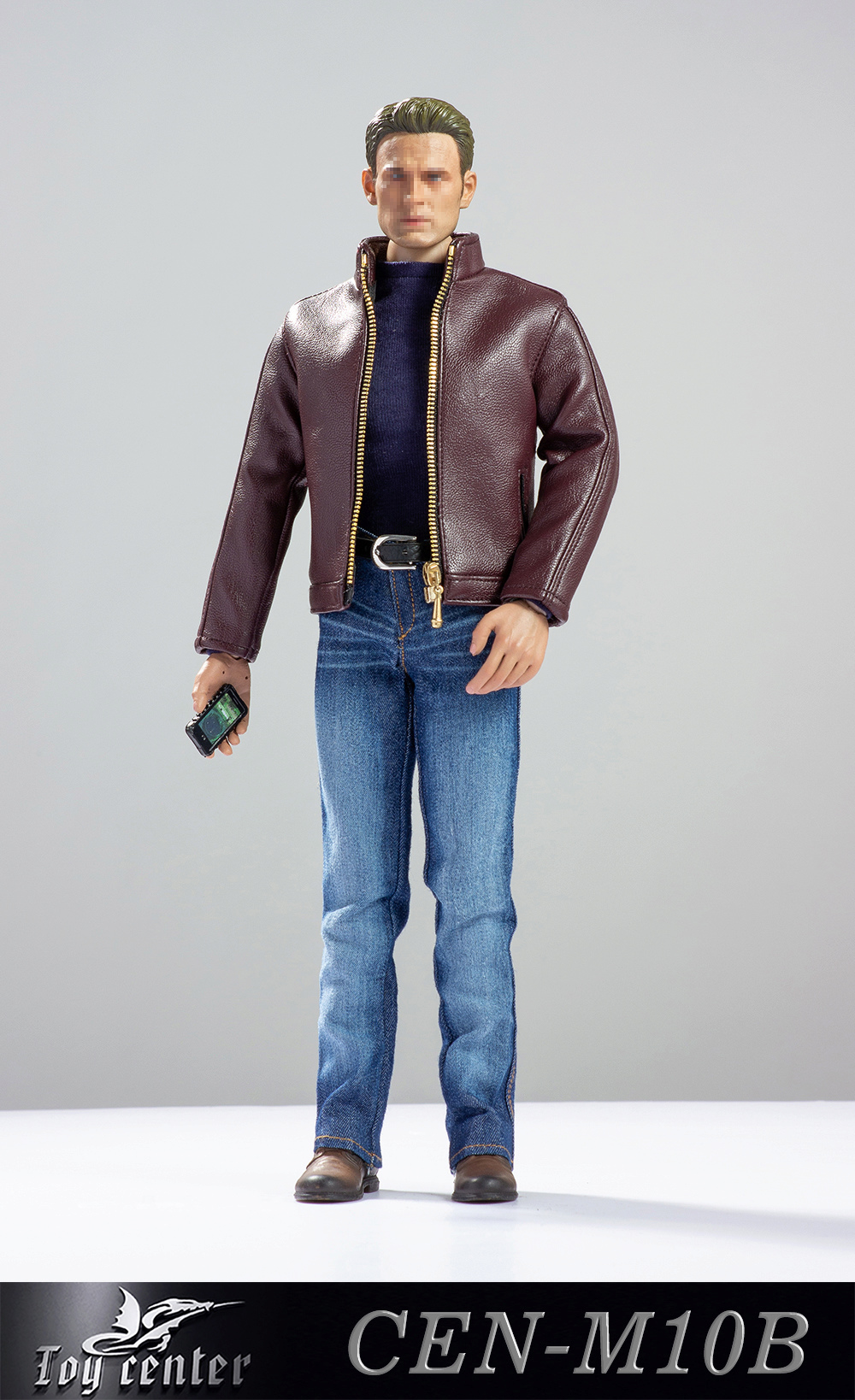 clothes - NEW PRODUCT: Toy center: 1/6 US team trend leather suit - a total of three colors A / B / C (CEN-M10 #) 13140910