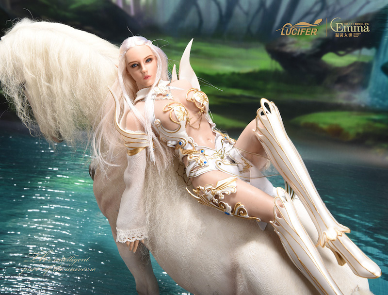 fantasy - NEW PRODUCT: [LXF-1904B] Elf Queen Emma Queen Version 1:6 Figure by Lucifer 13141