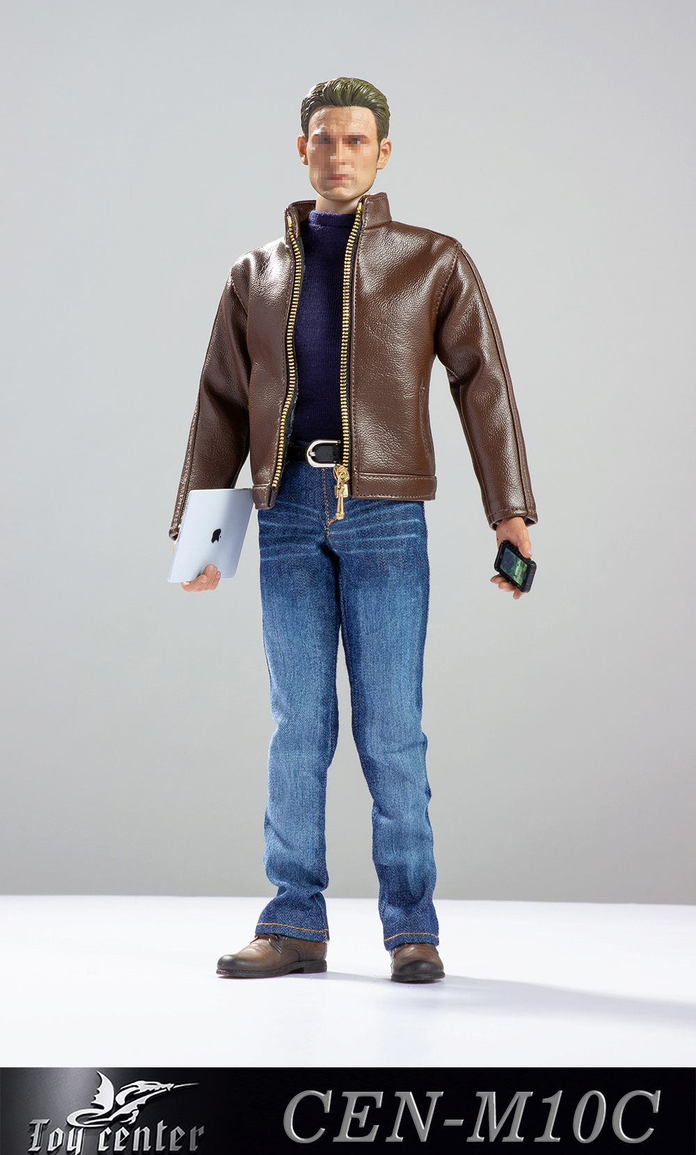 clothes - NEW PRODUCT: Toy center: 1/6 US team trend leather suit - a total of three colors A / B / C (CEN-M10 #) 13143410
