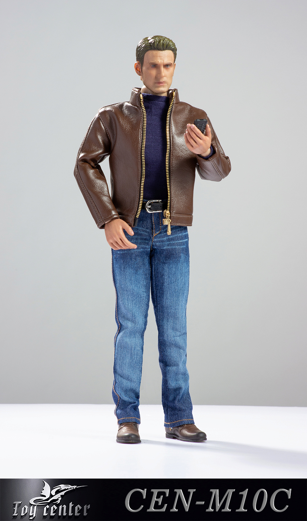 clothes - NEW PRODUCT: Toy center: 1/6 US team trend leather suit - a total of three colors A / B / C (CEN-M10 #) 13143510