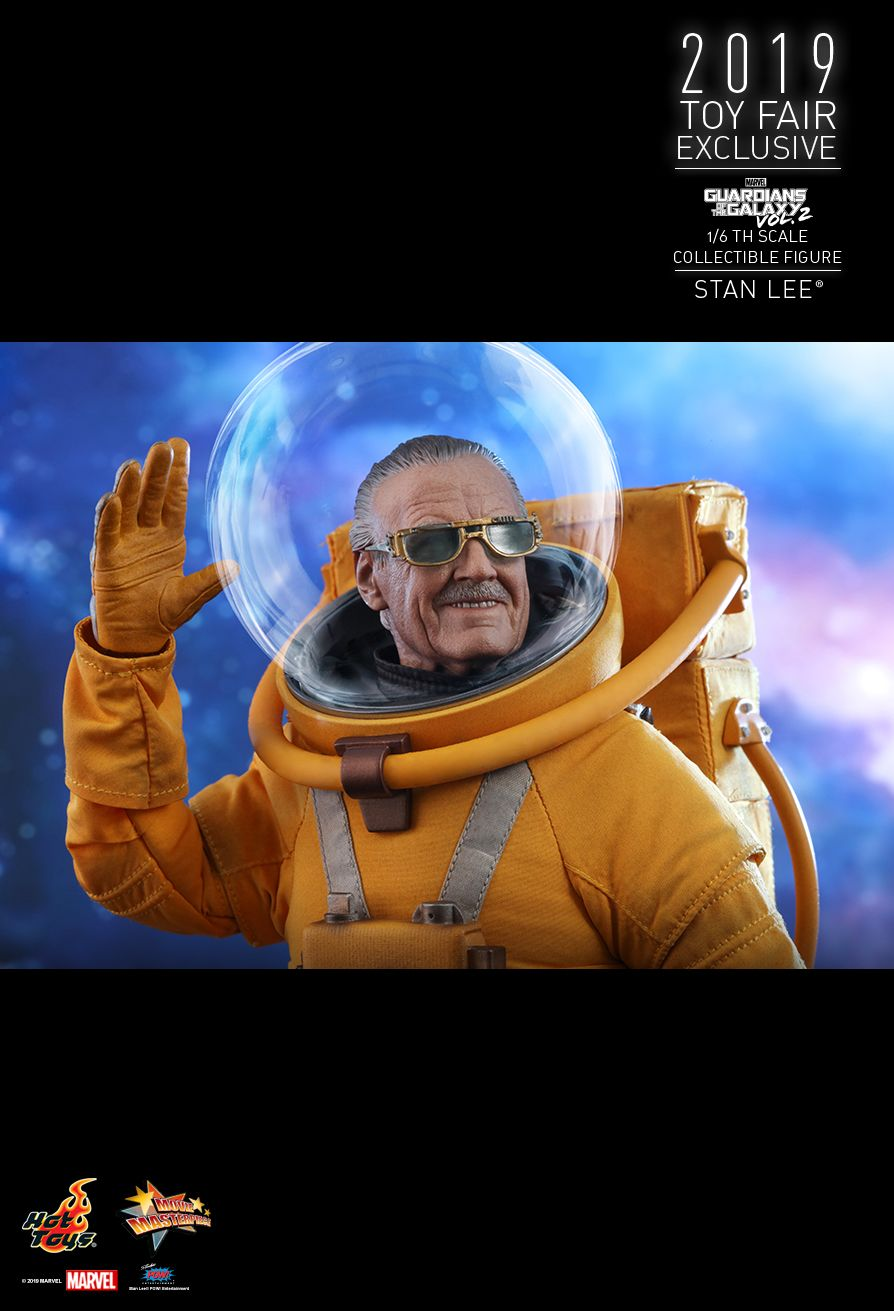 NEW PRODUCT: HOT TOYS: GUARDIANS OF THE GALAXY VOL. 2 STAN LEE® 1/6TH SCALE COLLECTIBLE FIGURE 13148