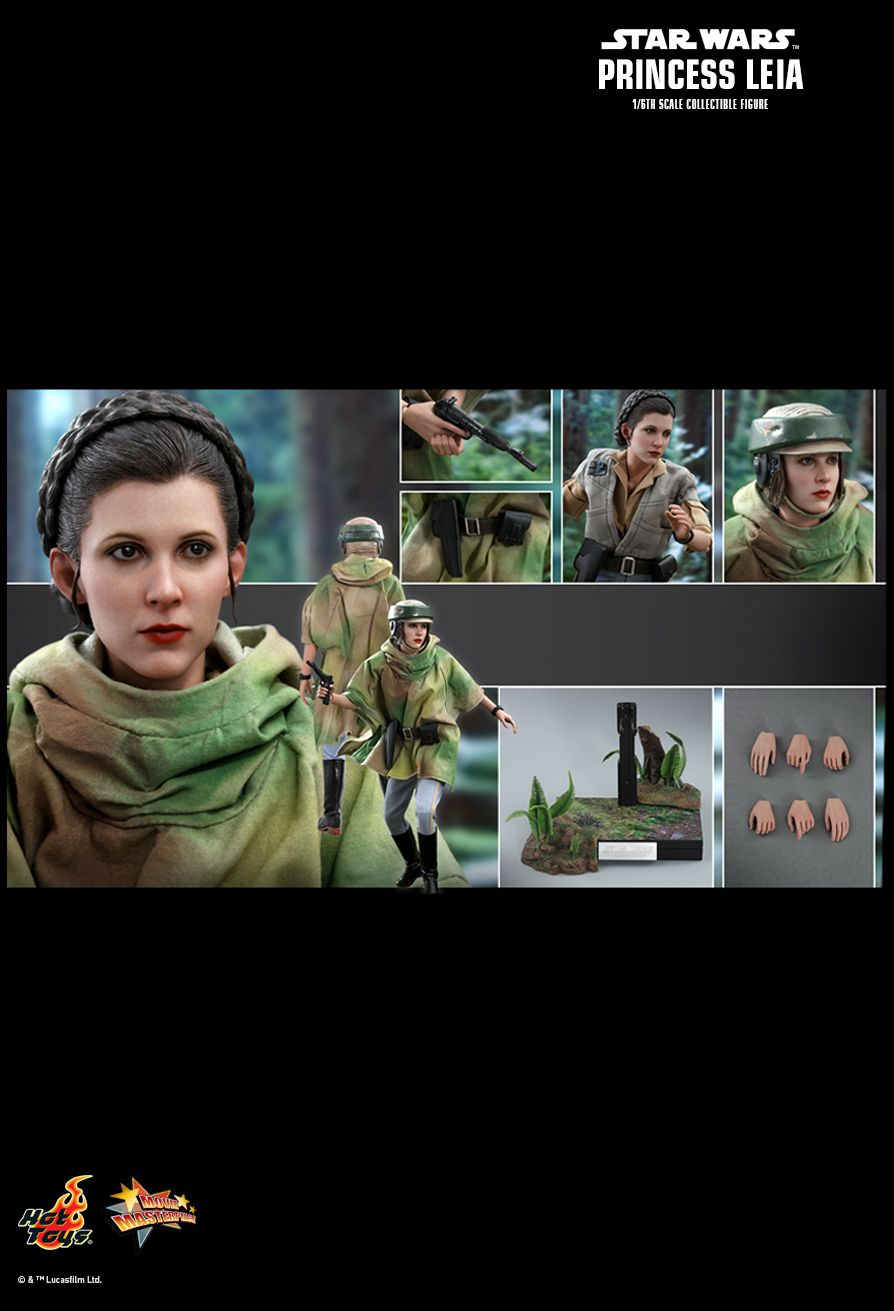 NEW PRODUCT: HOT TOYS: STAR WARS: RETURN OF THE JEDI PRINCESS LEIA 1/6TH SCALE COLLECTIBLE FIGURE 13156
