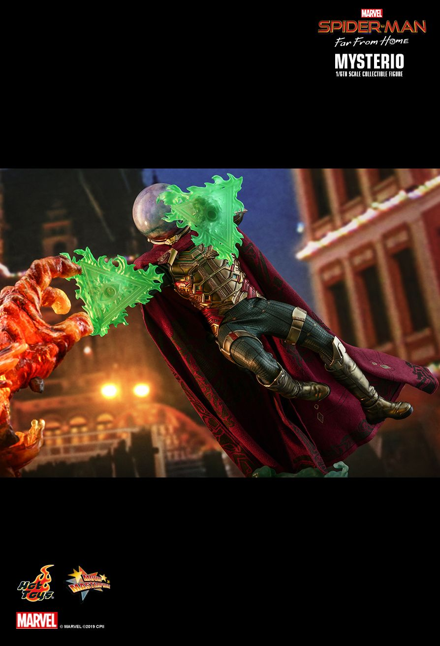 NEW PRODUCT: HOT TOYS: SPIDER-MAN: FAR FROM HOME MYSTERIO 1/6TH SCALE COLLECTIBLE FIGURE 13162