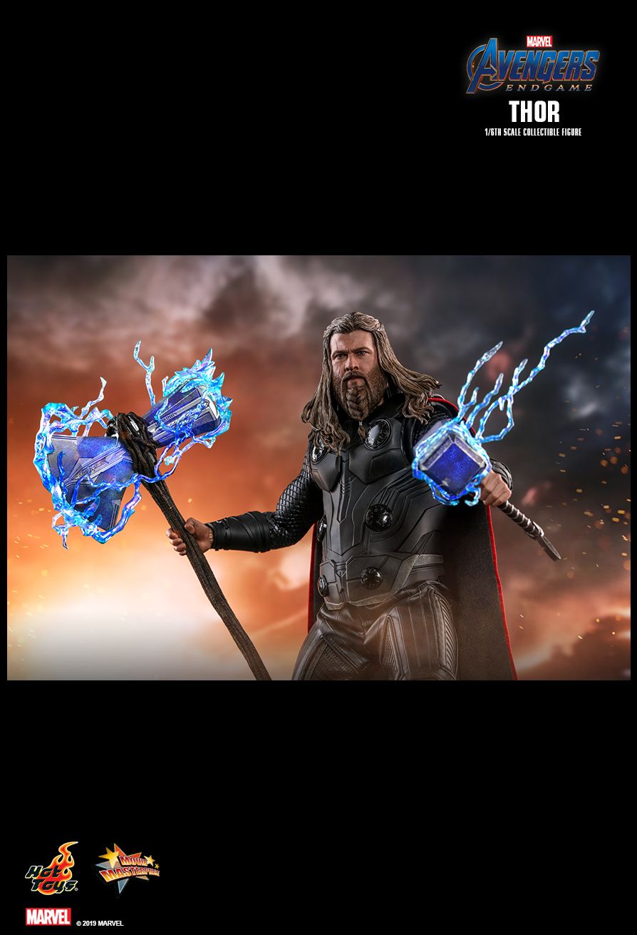 marvel - NEW PRODUCT: HOT TOYS: AVENGERS: ENDGAME THOR 1/6TH SCALE COLLECTIBLE FIGURE 13168