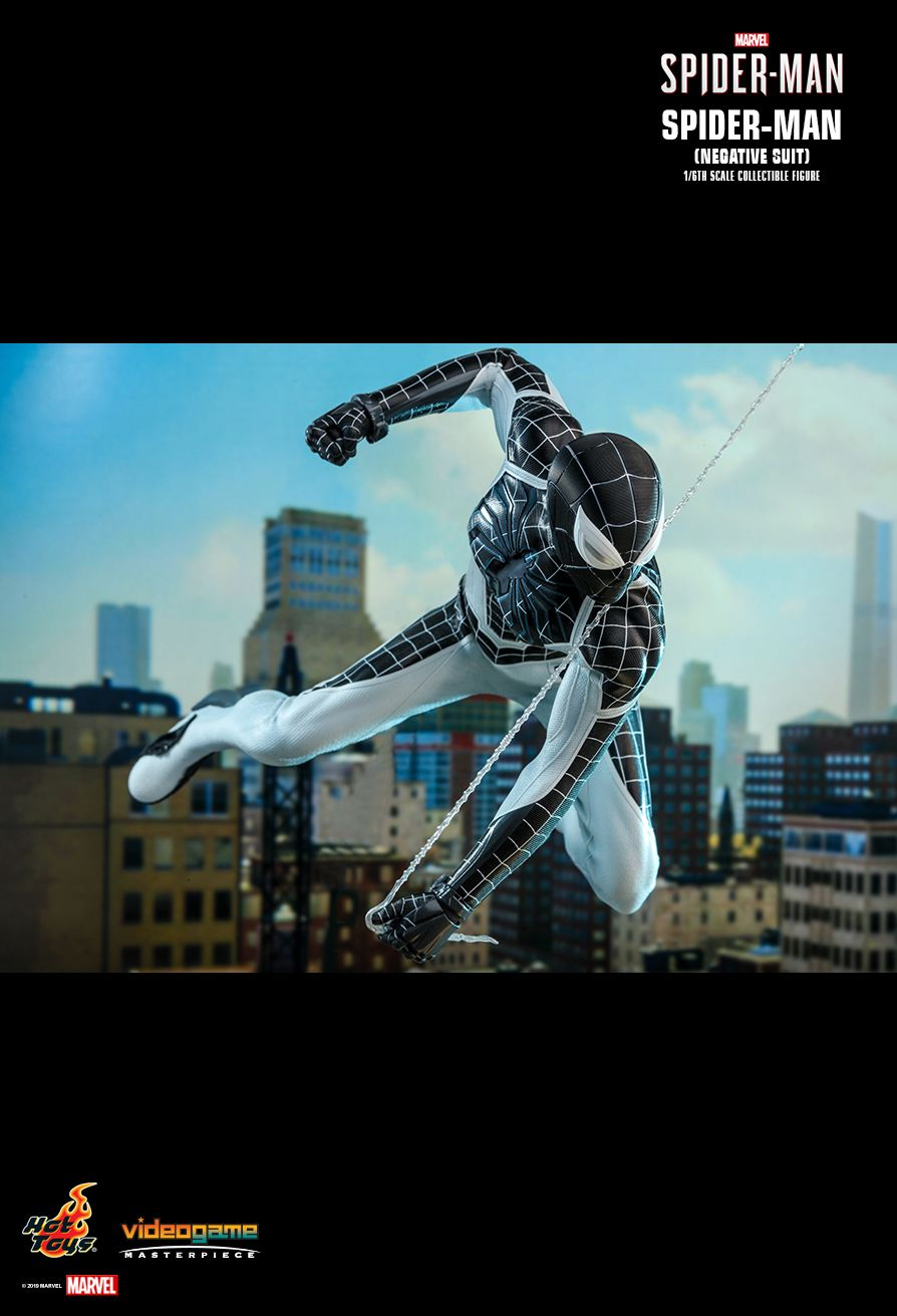 Spider-Man - NEW PRODUCT: HOT TOYS: MARVEL'S SPIDER-MAN SPIDER-MAN (NEGATIVE SUIT) 1/6TH SCALE COLLECTIBLE FIGURE (EXCLUSIVE EDITION) 13172