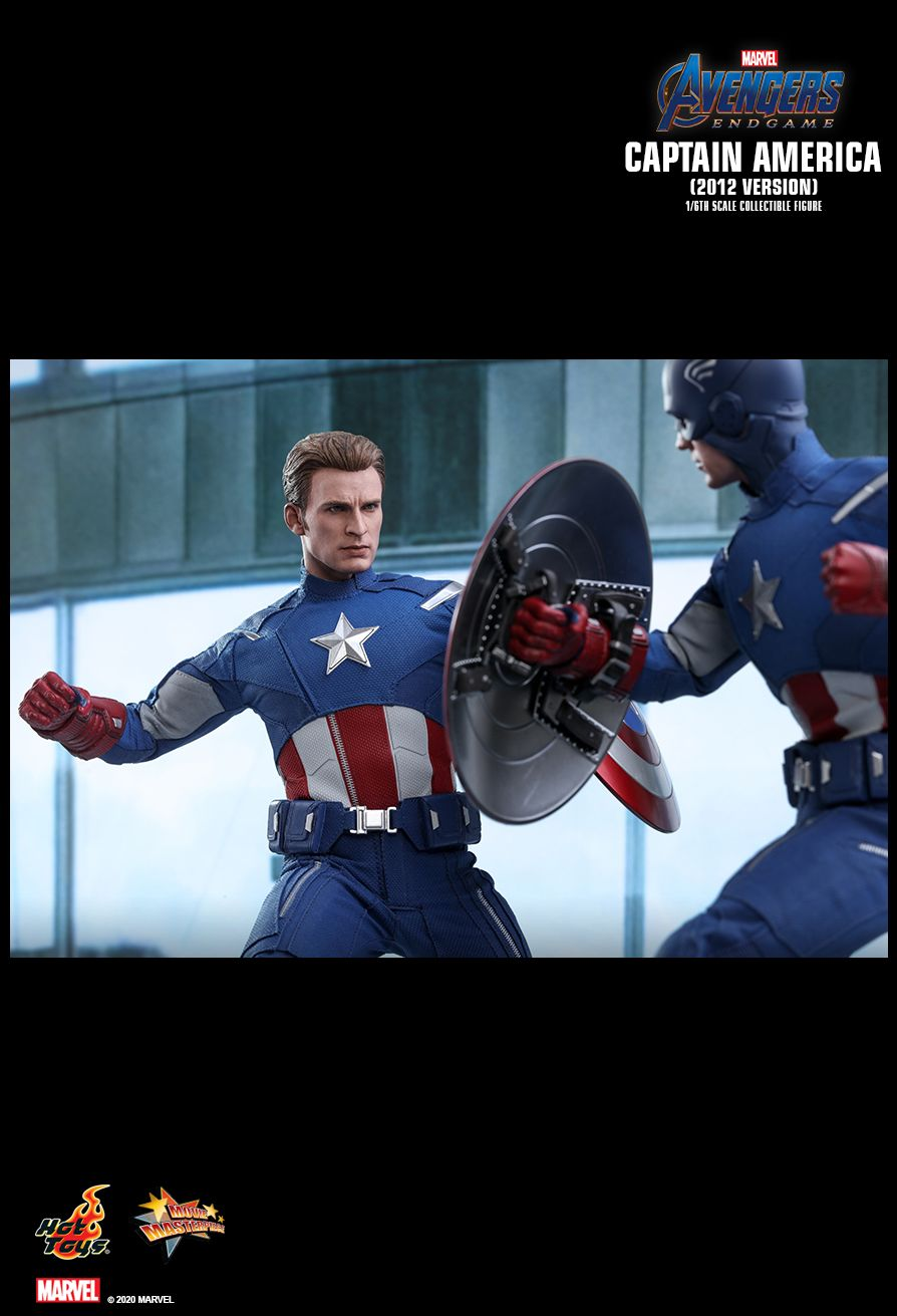 movie - NEW PRODUCT: HOT TOYS: AVENGERS: ENDGAME CAPTAIN AMERICA (2012 VERSION) 1/6TH SCALE COLLECTIBLE FIGURE 13187
