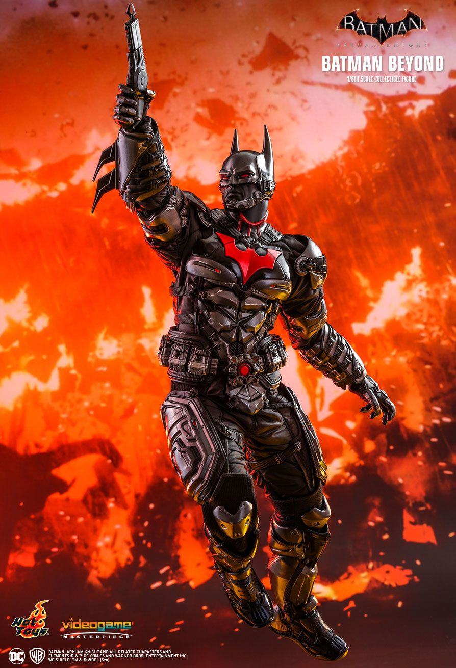 BatmanBeyond - NEW PRODUCT: HOT TOYS: BATMAN: ARKHAM KNIGHT BATMAN BEYOND 1/6TH SCALE COLLECTIBLE FIGURE 13194