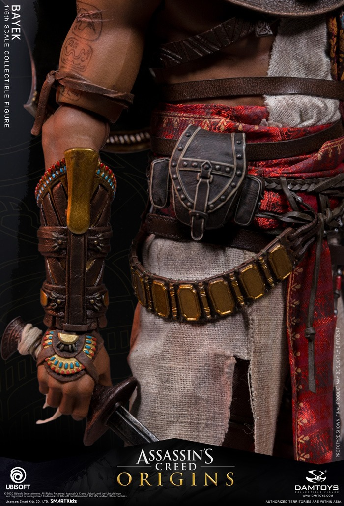 male - NEW PRODUCT: 1/6 DamToys Assassin's Creed Origins - Bayek 1/6 scale figure 13214