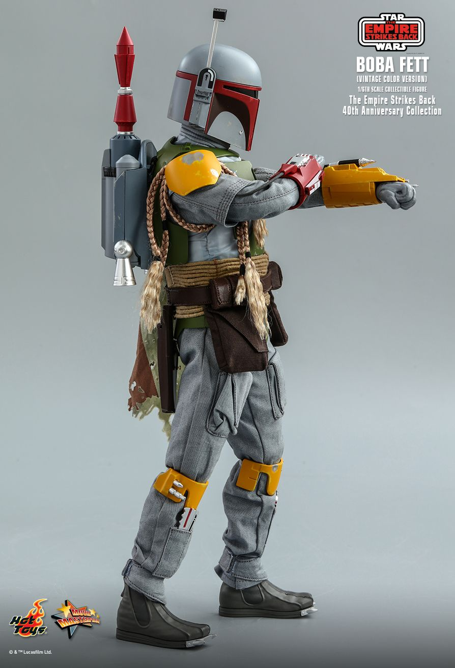 sci-fi - NEW PRODUCT: HOT TOYS: STAR WARS: THE EMPIRE STRIKES BACK™ BOBA FETT™ (VINTAGE COLOR VERSION) (40TH ANNIVERSARY COLLECTION) 1/6TH SCALE COLLECTIBLE FIGURE 13217