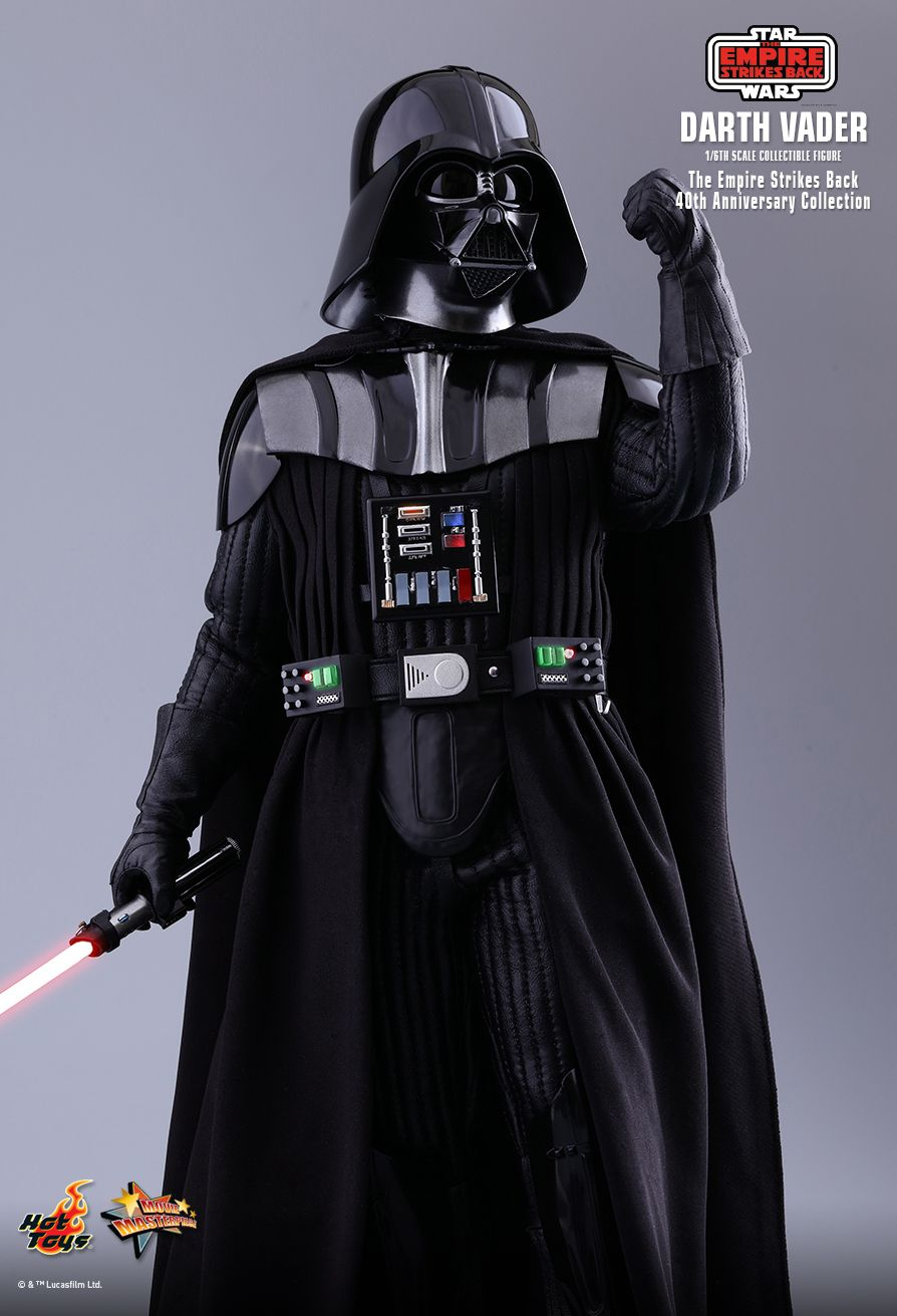 40thAnniversaryCollection - NEW PRODUCT: HOT TOYS: STAR WARS: THE EMPIRE STRIKES BACK™ DARTH VADER™ (40TH ANNIVERSARY COLLECTION) 1/6TH SCALE COLLECTIBLE FIGURE 13218