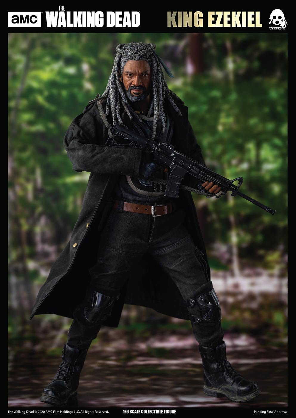 walkingdead - NEW PRODUCT: Threezero: The Walking Dead – 1/6 King Ezekiel 13239