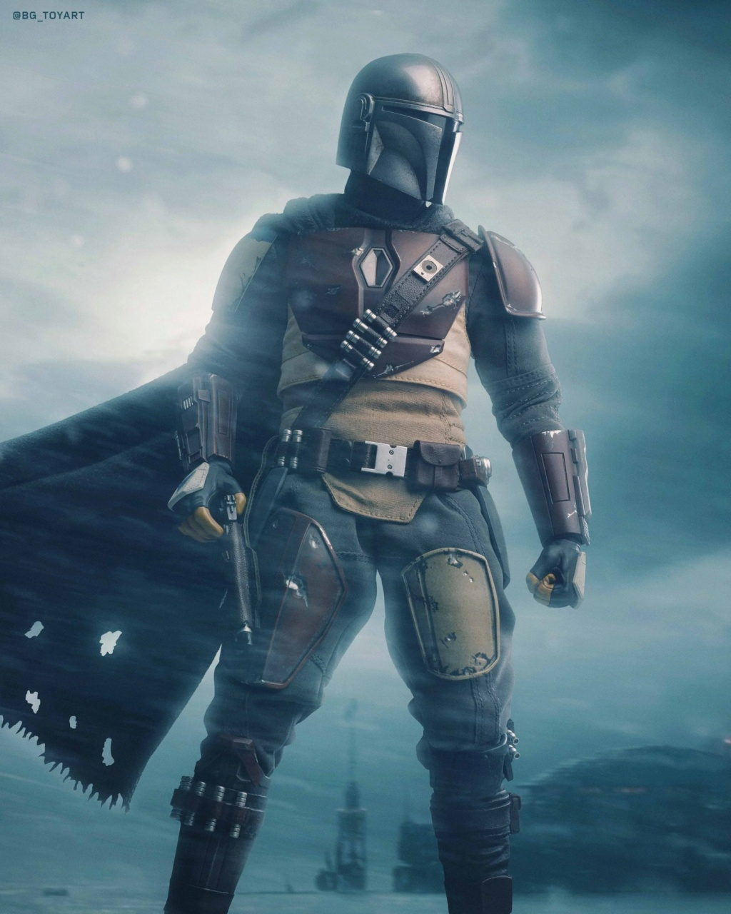 StarWars - NEW PRODUCT: HOT TOYS: THE MANDALORIAN -- THE MANDALORIAN 1/6TH SCALE COLLECTIBLE FIGURE 13242