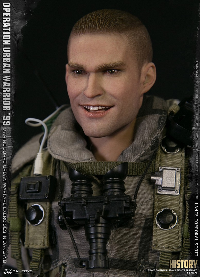 MarineCorps - NEW PRODUCT: DAMToys: 1/6 '99 City Warrior Operation-Marine Corps Oakland City Battle Exercise - Lance Corporal Scott #78079 13245