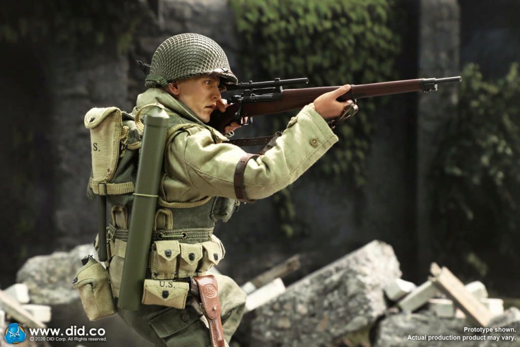 DiD - NEW PRODUCT: DiD: A80144 WWII US 2nd Ranger Battalion Series 4 Private Jackson 13263