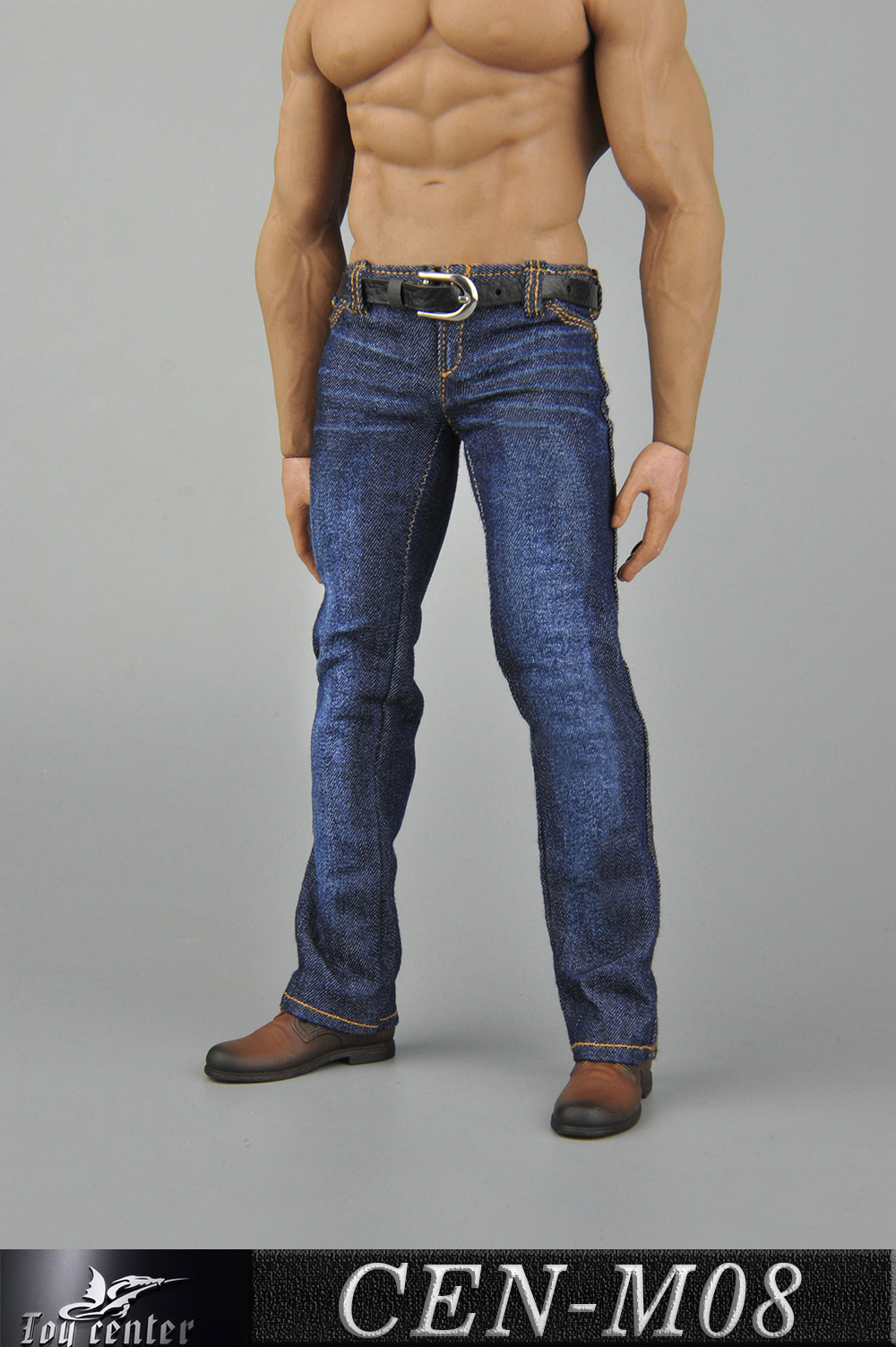 clothes - NEW PRODUCT: Toy Center: 1/6 Sports Vest Jeans Set - Three Colors A/B/C 13424010