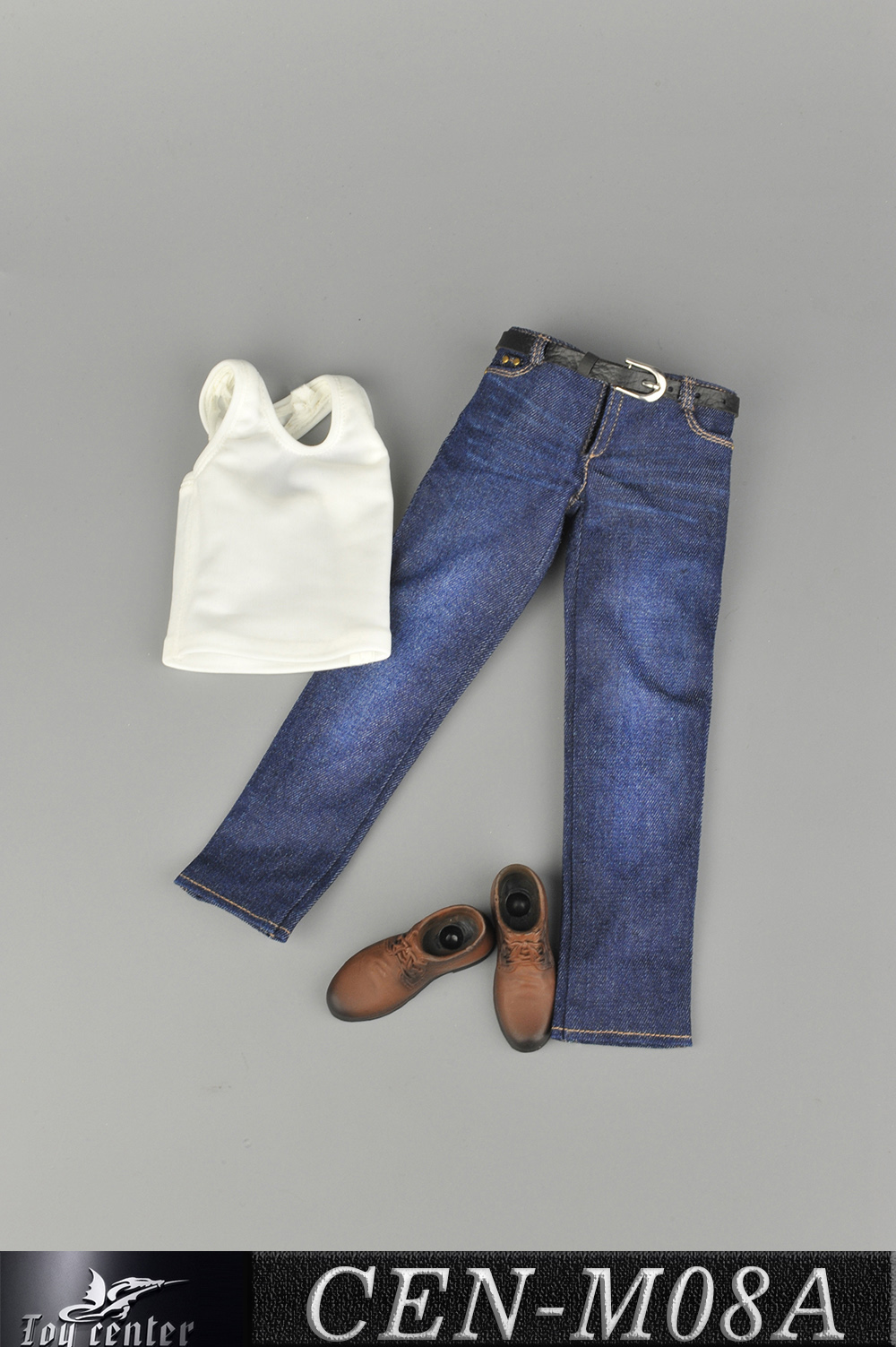 clothes - NEW PRODUCT: Toy Center: 1/6 Sports Vest Jeans Set - Three Colors A/B/C 13424110
