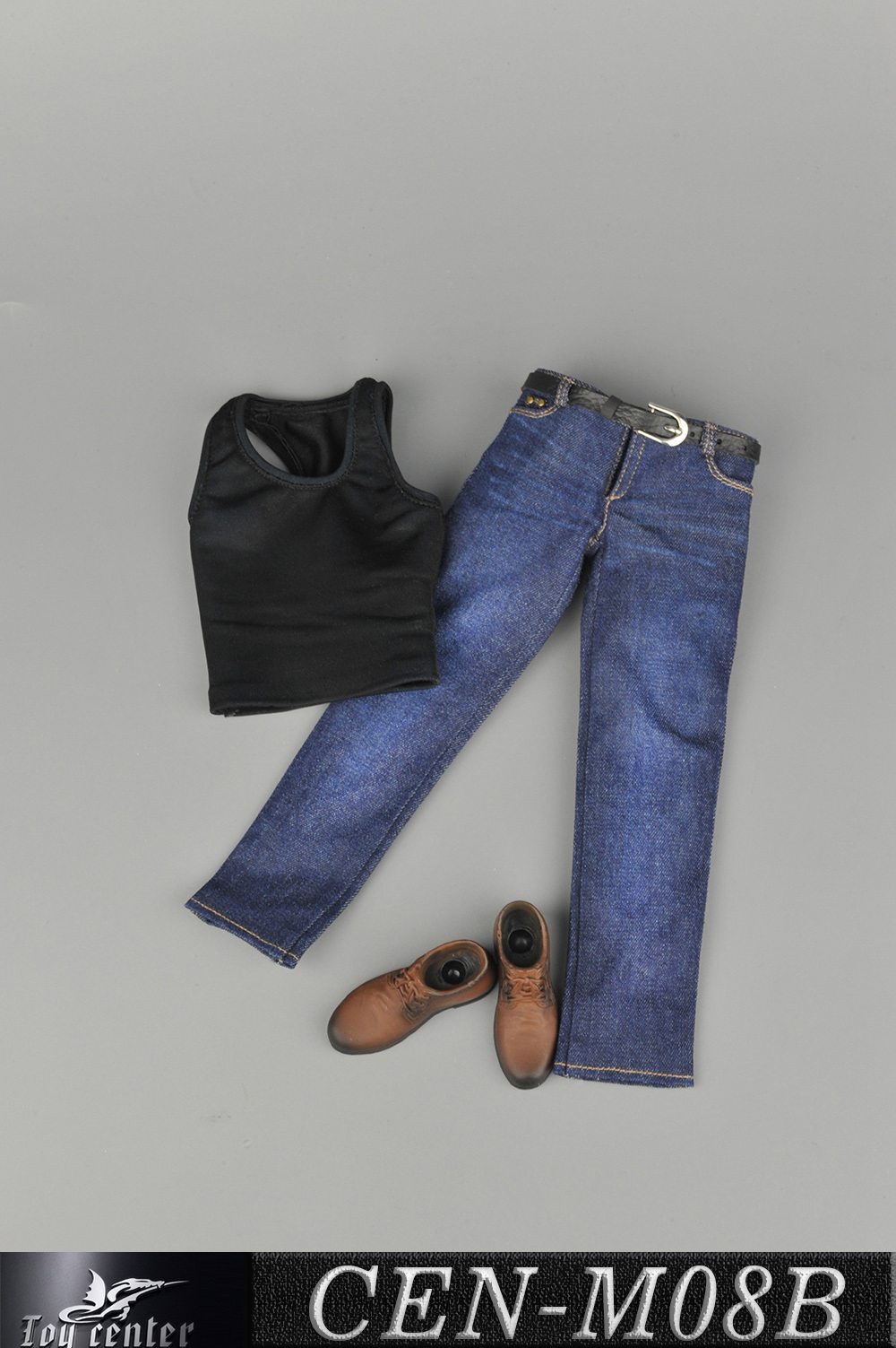 NEW PRODUCT: Toy Center: 1/6 Sports Vest Jeans Set - Three Colors A/B/C 13424210
