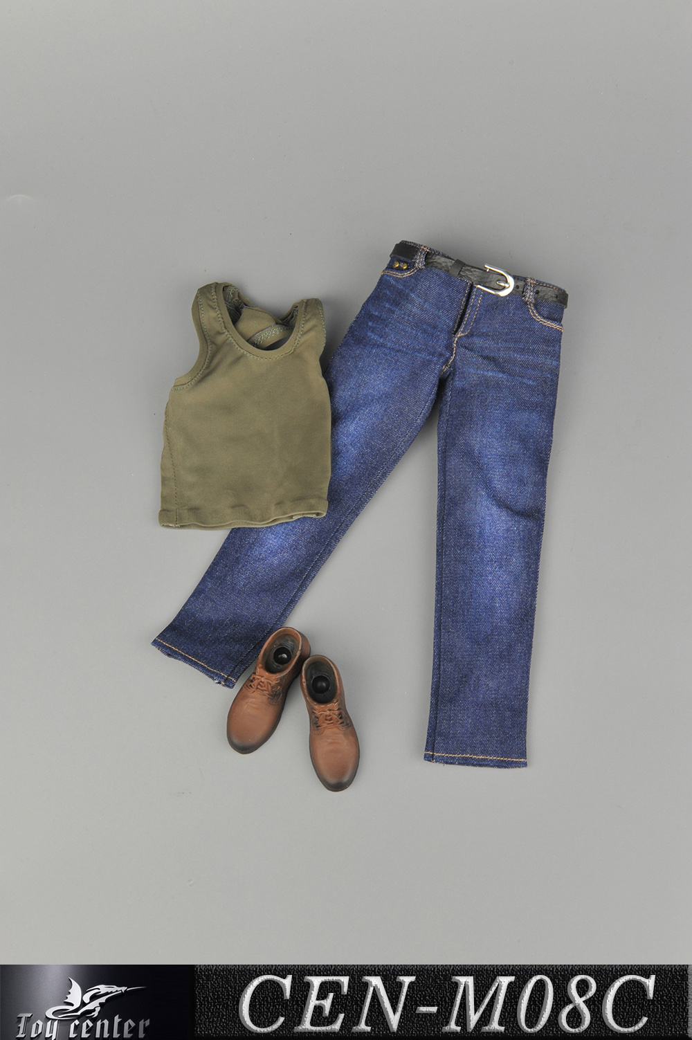 clothes - NEW PRODUCT: Toy Center: 1/6 Sports Vest Jeans Set - Three Colors A/B/C 13424211