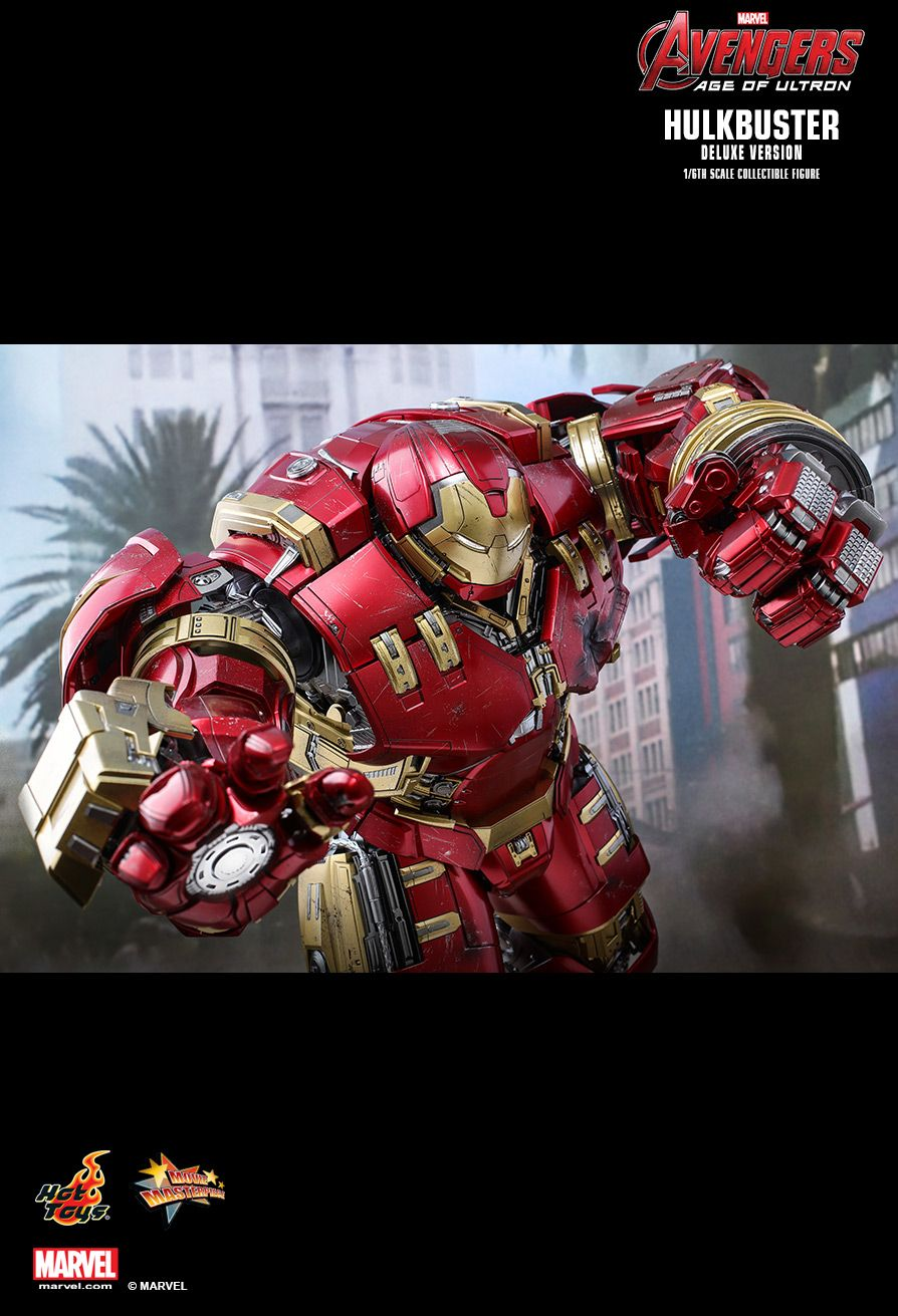 NEW PRODUCT: HOT TOYS: AVENGERS: AGE OF ULTRON HULKBUSTER (DELUXE VERSION) 1/6TH SCALE COLLECTIBLE FIGURE 1346
