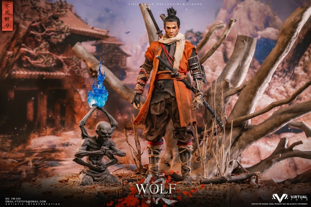 steampunk - NEW PRODUCT: VTS TOYS: 1/6 The wolf of Ashina Anonymous Wolf - Standard & Deluxe Edition VM-030DX 13461310