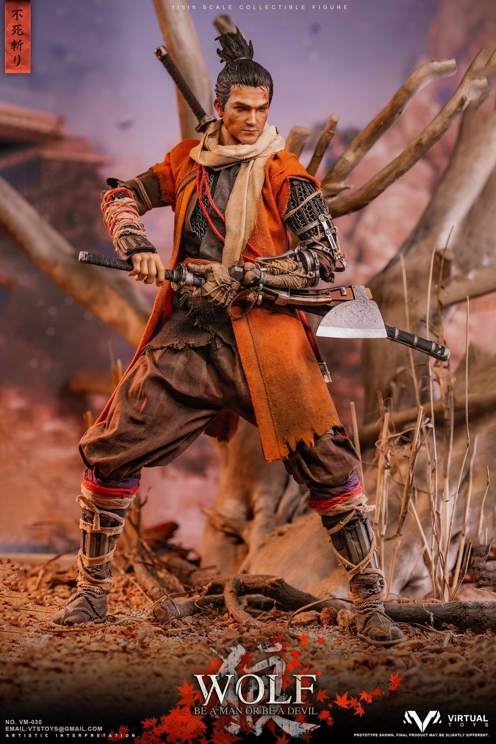 steampunk - NEW PRODUCT: VTS TOYS: 1/6 The wolf of Ashina Anonymous Wolf - Standard & Deluxe Edition VM-030DX 13461410