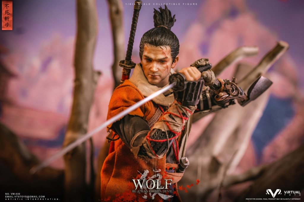 steampunk - NEW PRODUCT: VTS TOYS: 1/6 The wolf of Ashina Anonymous Wolf - Standard & Deluxe Edition VM-030DX 13461510