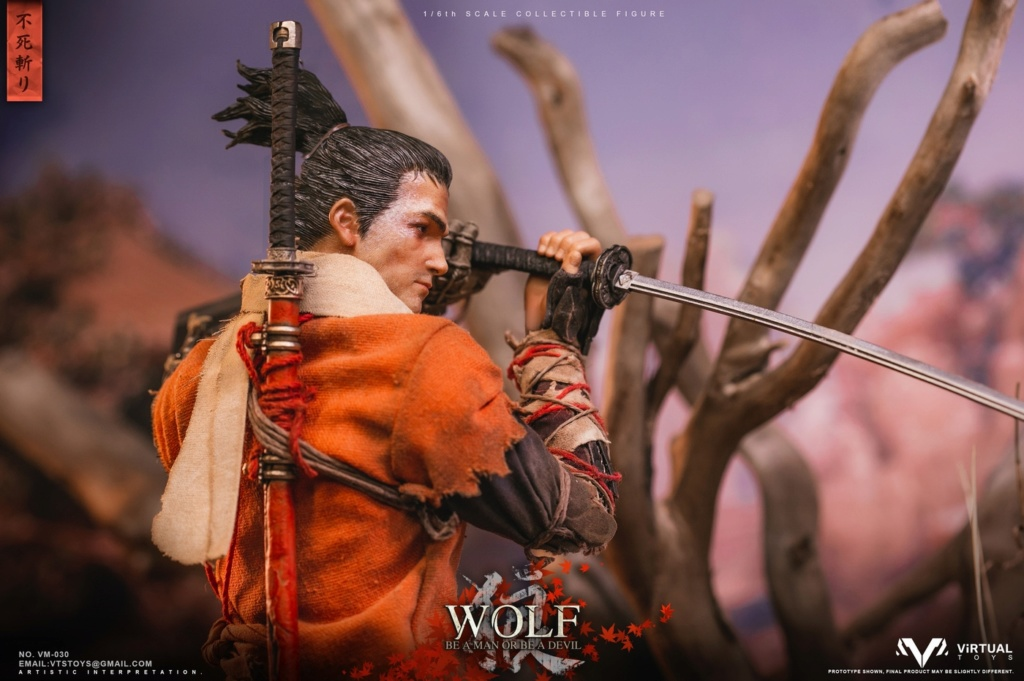 steampunk - NEW PRODUCT: VTS TOYS: 1/6 The wolf of Ashina Anonymous Wolf - Standard & Deluxe Edition VM-030DX 13461511