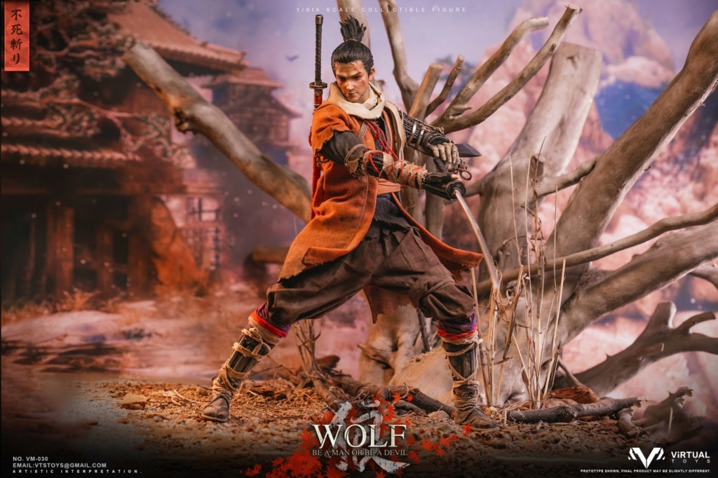steampunk - NEW PRODUCT: VTS TOYS: 1/6 The wolf of Ashina Anonymous Wolf - Standard & Deluxe Edition VM-030DX 13461610