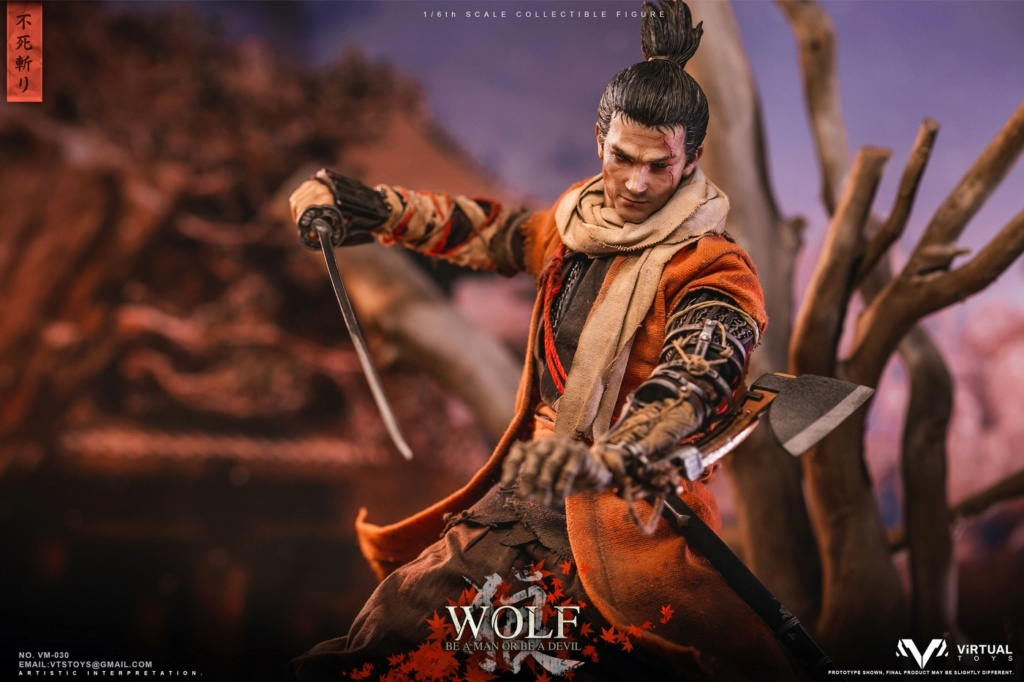 steampunk - NEW PRODUCT: VTS TOYS: 1/6 The wolf of Ashina Anonymous Wolf - Standard & Deluxe Edition VM-030DX 13461710