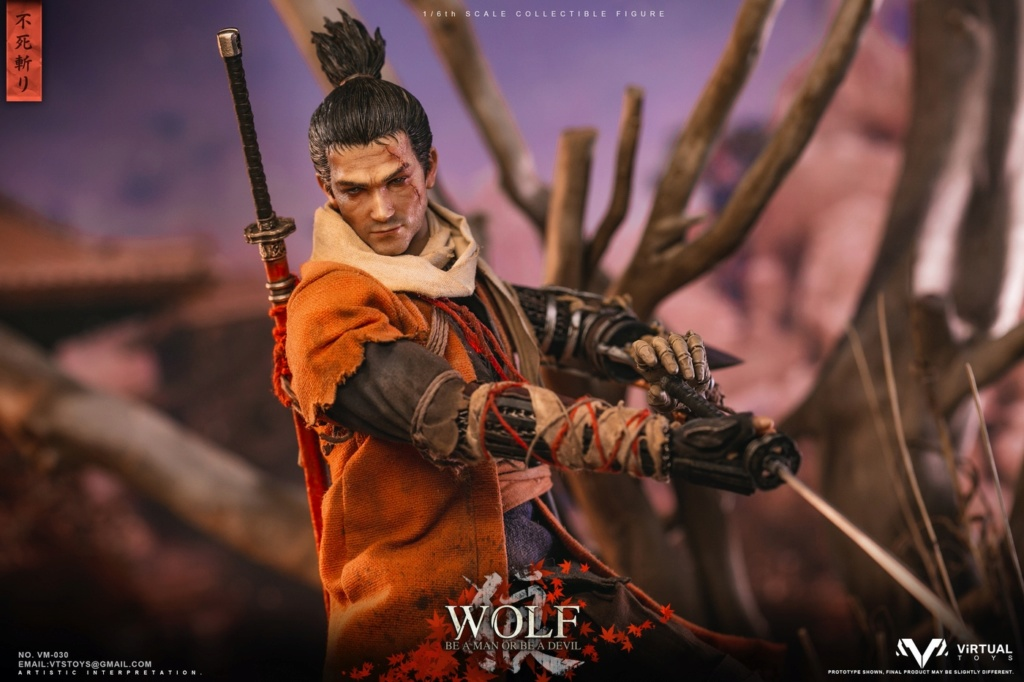 steampunk - NEW PRODUCT: VTS TOYS: 1/6 The wolf of Ashina Anonymous Wolf - Standard & Deluxe Edition VM-030DX 13461810