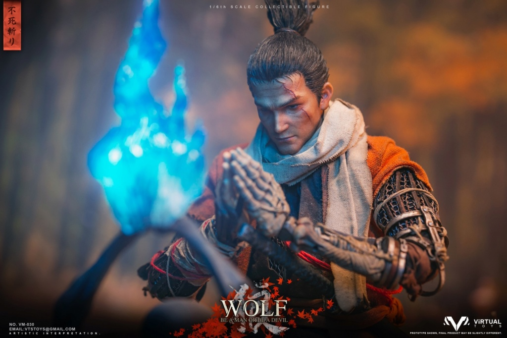 steampunk - NEW PRODUCT: VTS TOYS: 1/6 The wolf of Ashina Anonymous Wolf - Standard & Deluxe Edition VM-030DX 13462010