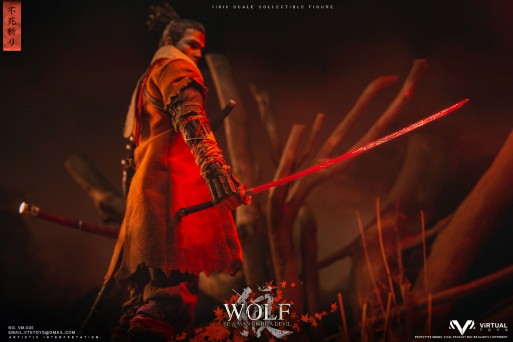 steampunk - NEW PRODUCT: VTS TOYS: 1/6 The wolf of Ashina Anonymous Wolf - Standard & Deluxe Edition VM-030DX 13462110