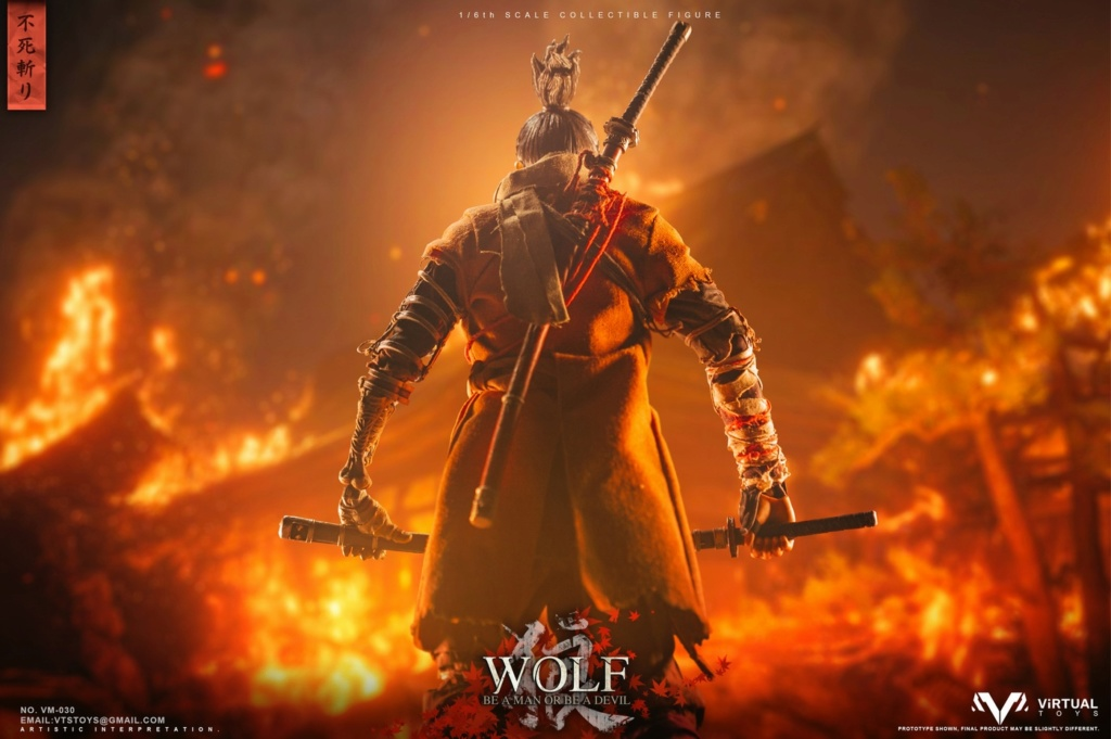 steampunk - NEW PRODUCT: VTS TOYS: 1/6 The wolf of Ashina Anonymous Wolf - Standard & Deluxe Edition VM-030DX 13462210