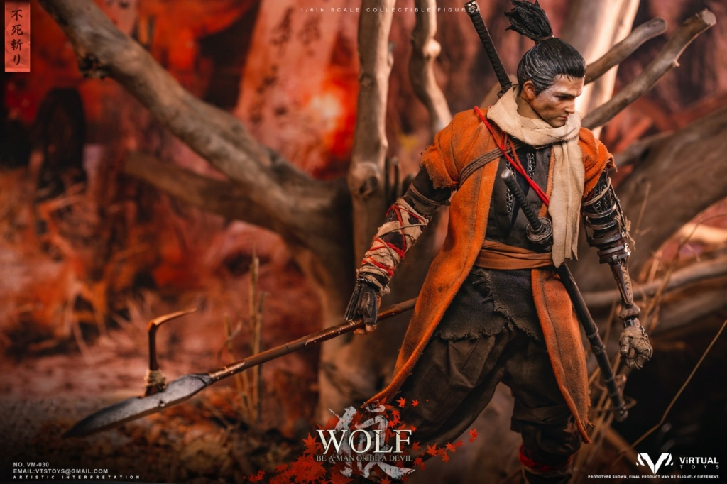 steampunk - NEW PRODUCT: VTS TOYS: 1/6 The wolf of Ashina Anonymous Wolf - Standard & Deluxe Edition VM-030DX 13462310