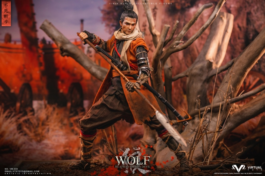 steampunk - NEW PRODUCT: VTS TOYS: 1/6 The wolf of Ashina Anonymous Wolf - Standard & Deluxe Edition VM-030DX 13462311