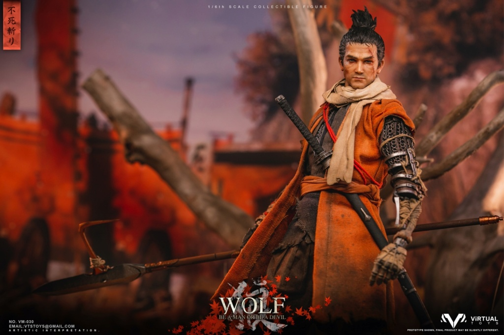 steampunk - NEW PRODUCT: VTS TOYS: 1/6 The wolf of Ashina Anonymous Wolf - Standard & Deluxe Edition VM-030DX 13462410