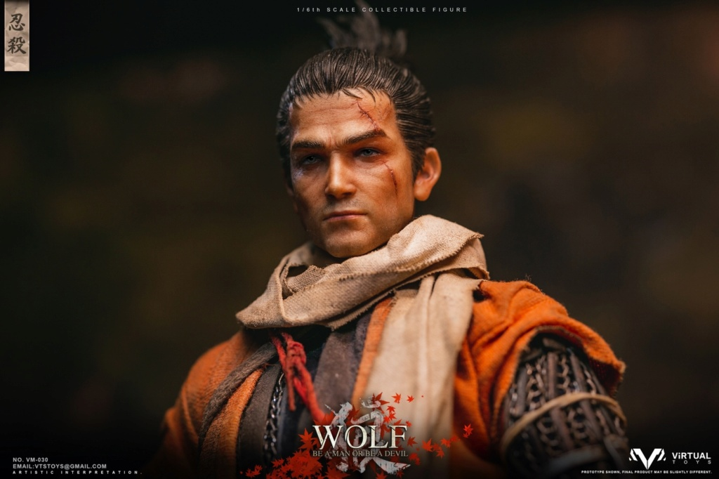 steampunk - NEW PRODUCT: VTS TOYS: 1/6 The wolf of Ashina Anonymous Wolf - Standard & Deluxe Edition VM-030DX 13493110