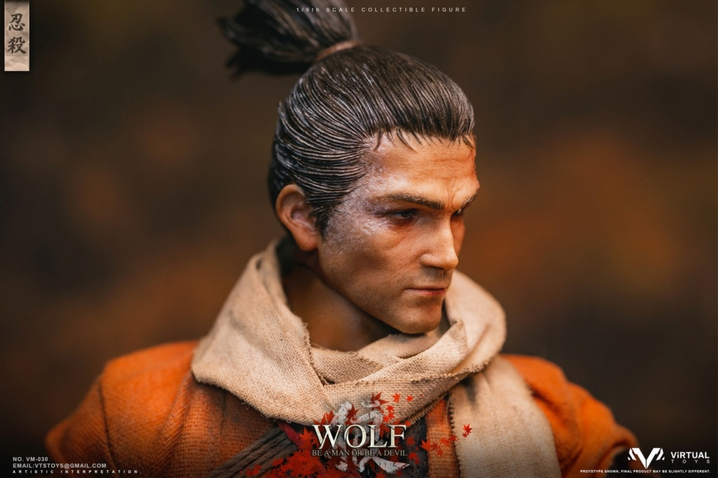 steampunk - NEW PRODUCT: VTS TOYS: 1/6 The wolf of Ashina Anonymous Wolf - Standard & Deluxe Edition VM-030DX 13493210