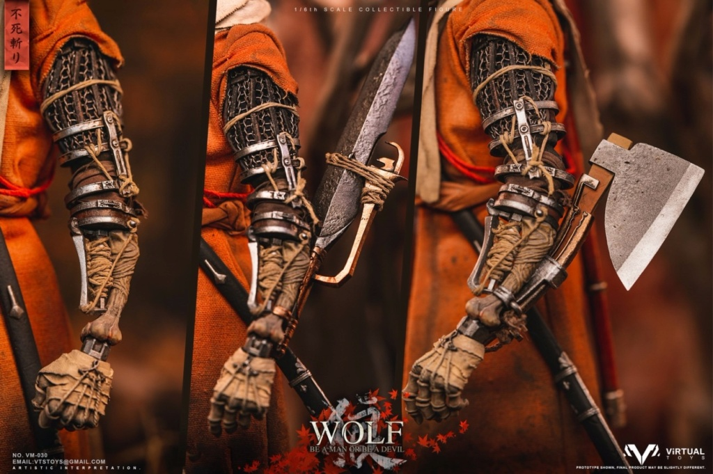steampunk - NEW PRODUCT: VTS TOYS: 1/6 The wolf of Ashina Anonymous Wolf - Standard & Deluxe Edition VM-030DX 13493410