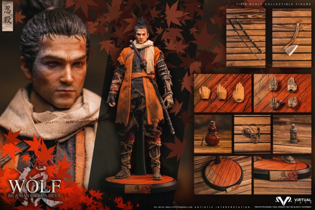 steampunk - NEW PRODUCT: VTS TOYS: 1/6 The wolf of Ashina Anonymous Wolf - Standard & Deluxe Edition VM-030DX 13493910
