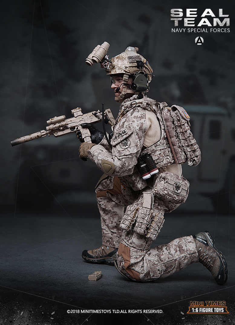 minitimes - NEW PRODUCT: MINI TIMES TOYS US NAVY SEAL TEAM SPECIAL FORCES 1/6 SCALE ACTION FIGURE MT-M012 1353