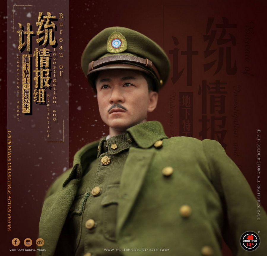 SoldierStory - NEW PRODUCT: SoldierStory new product: 1/6 World War II statistical intelligence group underground agent Fu Jingian - Shanghai 1942 (SS113#) 1356