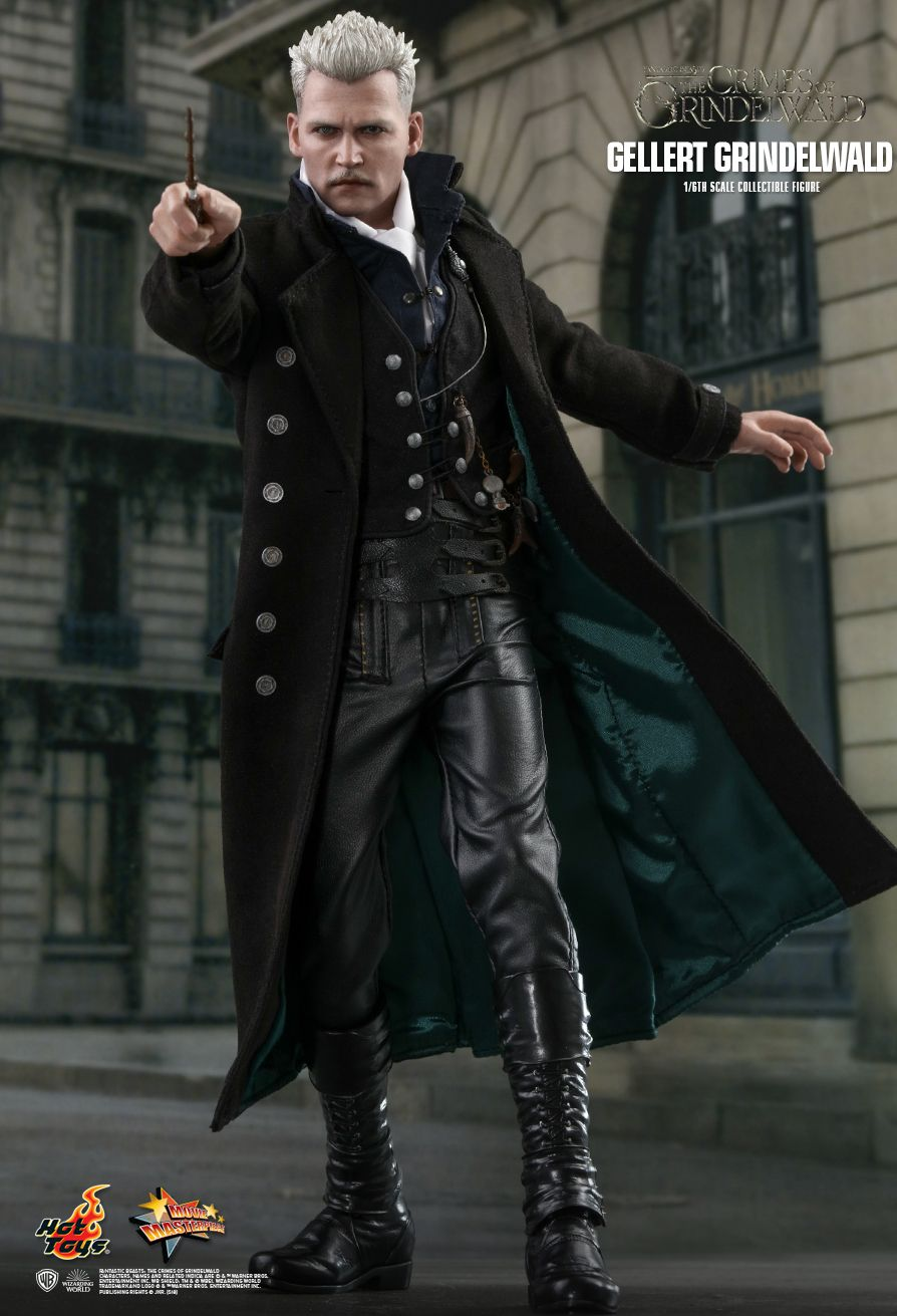 NEW PRODUCT: HOT TOYS: FANTASTIC BEASTS: THE CRIMES OF GRINDELWALD GELLERT GRINDELWALD 1/6TH SCALE COLLECTIBLE FIGURE 1364