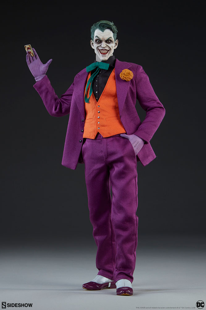 batman - NEW PRODUCT: SIDESHOW COLLECTIBLES: The Joker Sixth Scale Figure (Exclusive Laughing Head Sculpt) 1367