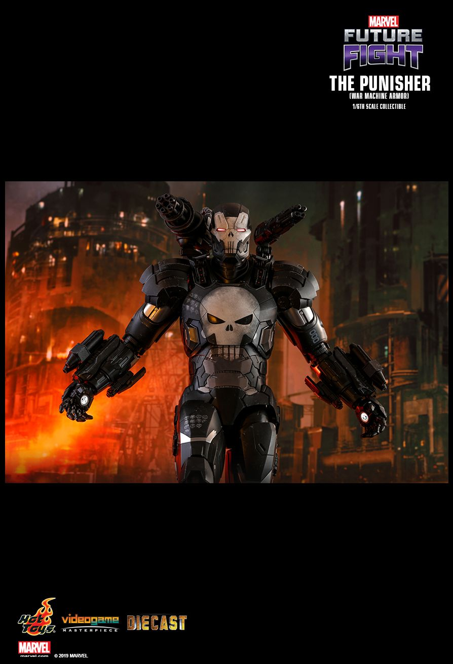 Videogame - NEW PRODUCT: HOT TOYS: MARVEL FUTURE FIGHT THE PUNISHER (WAR MACHINE ARMOR) 1/6TH SCALE COLLECTIBLE FIGURE 1384