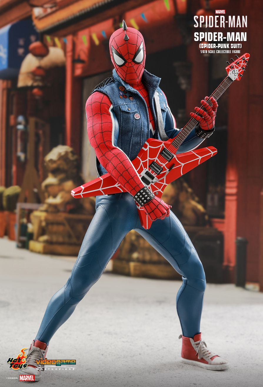 Spider-Punk - NEW PRODUCT: Hot Toys: MARVEL'S SPIDER-MAN SPIDER-MAN (SPIDER-PUNK SUIT) 1/6TH SCALE COLLECTIBLE FIGURE 139