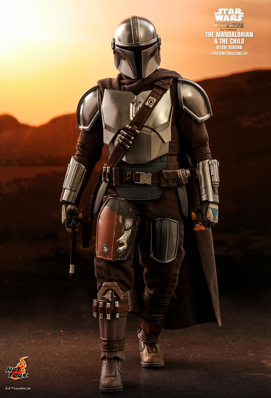 Sci-Fi - NEW PRODUCT: HOT TOYS: THE MANDALORIAN THE MANDALORIAN AND THE CHILD 1/6TH SCALE COLLECTIBLE SET (Standard and Deluxe) 13d36410