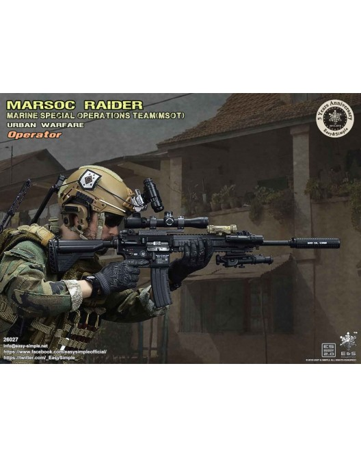 NEW PRODUCT: Easy & Simple 26027 1/6 Scale MARSOC Raider Urban Warfare Operator 14-52810