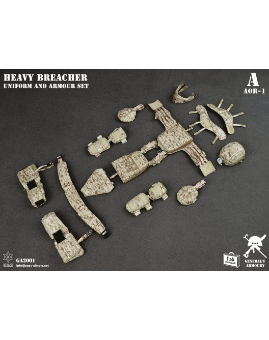 General - NEW PRODUCT: General's Armoury GA2001 1/6 Scale Heavy Breacher Uniform and Armour Set 14-52811