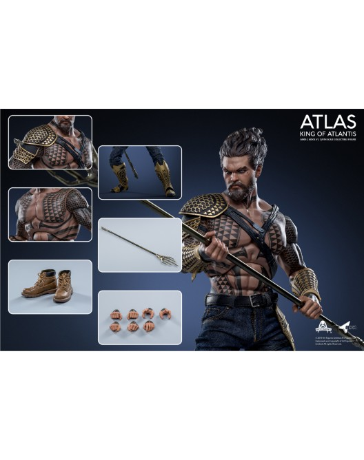 NEW PRODUCT: Art Figure AI-005 1/6 Scale King of Atlantis ATLAS 14-52815